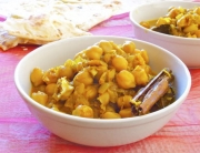 curry de garbanzos  - 1