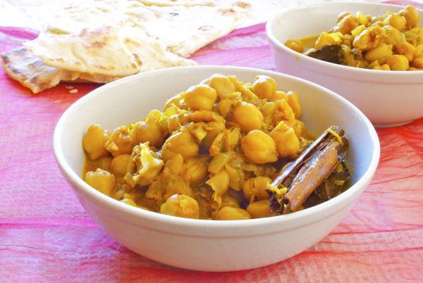 curry de garbanzos  - 1