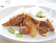 pollo con guindillas verdes - 1