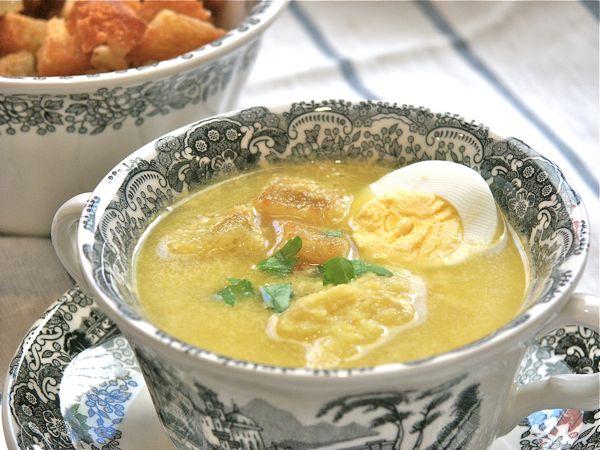 Pepekitchen receta de caldo de pollo casero pepekitchen for Consome de navidad