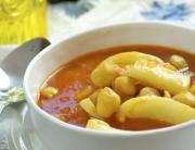 jibia en salsa con garbanzos - 3