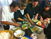 taller sushi en restaurante playa miguel torremolinos - 21