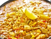 Paella al curry2