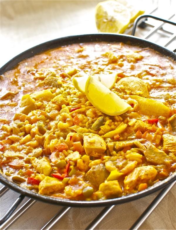 Paella al curry2