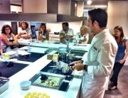 Show cooking de Diego Ferrer en Neffpoint Madrid