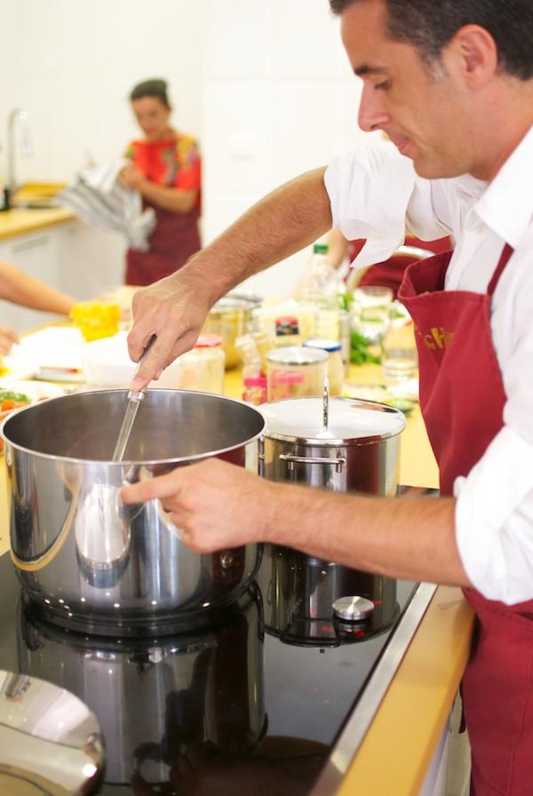 Curso de cocina para principiantes pepekitchen nueva - Curso de cocina para solteros ...