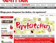 pepekitchen en Vanity Fair