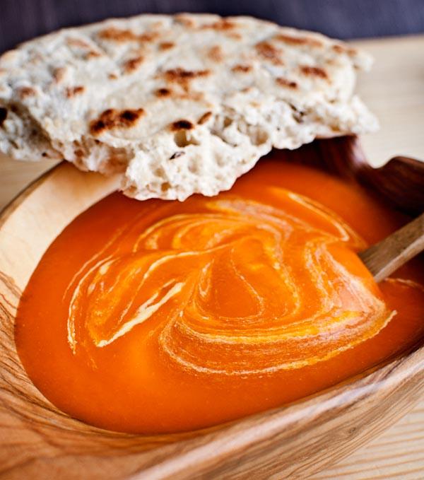 Sopa de tomate angloindia