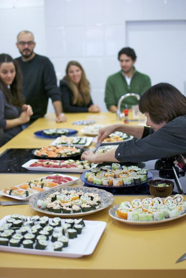 Pepekitchen taller de sushi pepekitchen for Escuela de cocina