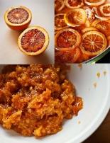 Bizcocho naranja aceite oliva