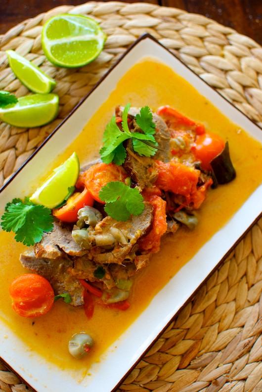 curry rojo de pato1