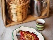Ensalada pimiento berenjena