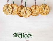 Kerstkransjes galletas navidad