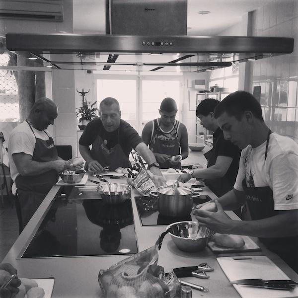 Curso intensivo iniciaci n a la cocina 2015 cursos de for Escuela de cocina
