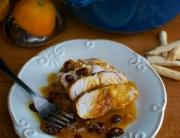solomillos de pavo salsa de naranja 1