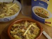macarrones sin gluten con boloñesa bianca 3