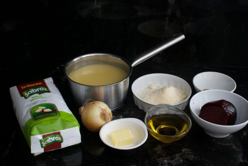 risotto de remolacha ingredientes