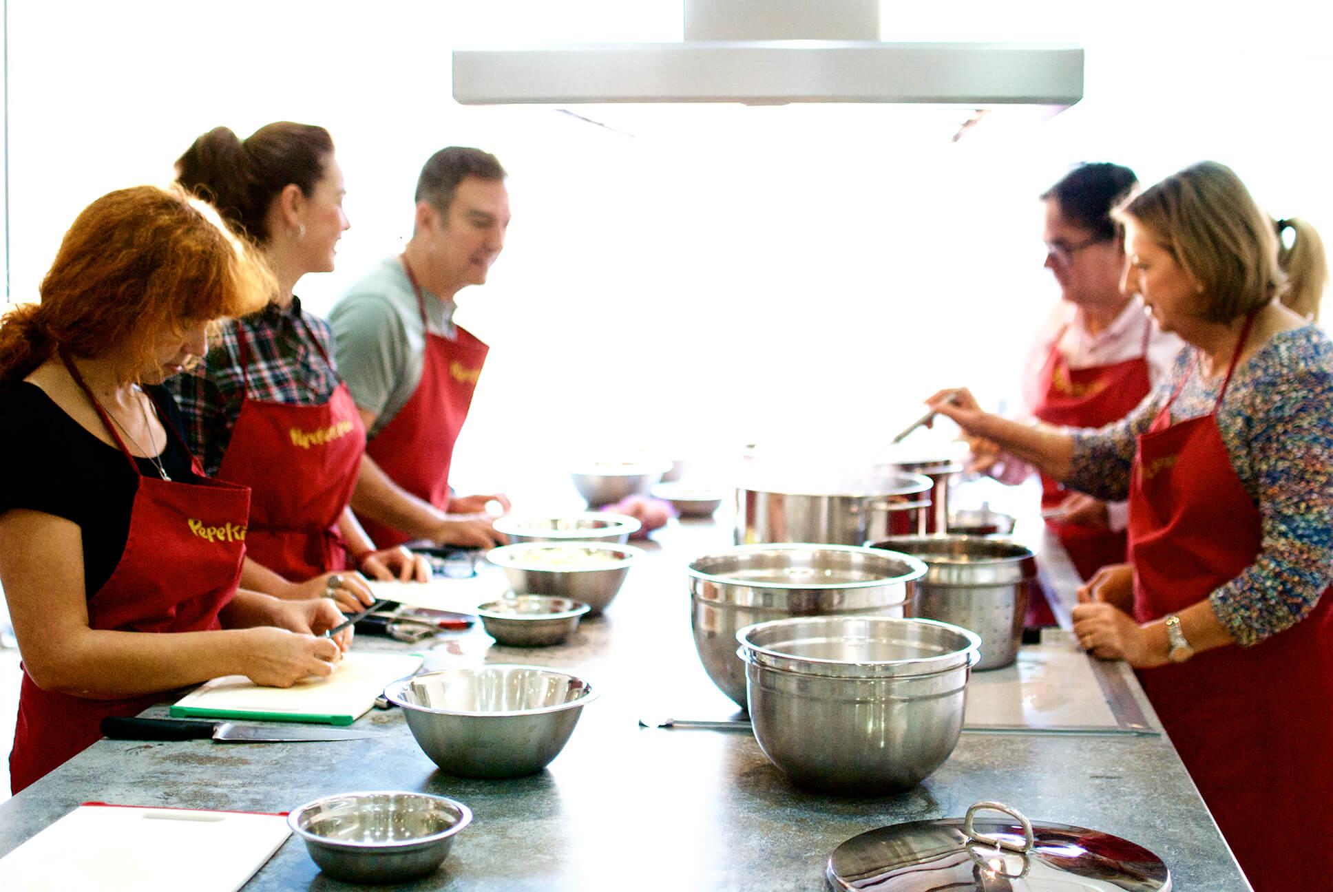Pepekitchen escuela de cocina en m laga for Clases cocina italiana